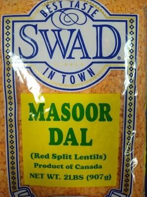 Swad Masoor Dal 2Lb