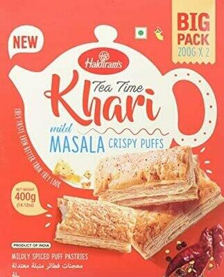 Haldirams Khara Masala Crispy Puffs 400g