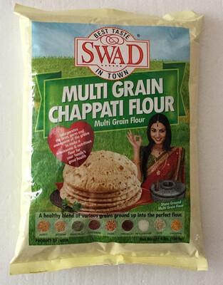 Swad Multi Grain Chappati Flour 4Lb