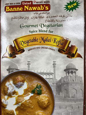 BANNE NAWAB VEGETABLE MALAI KOFTA