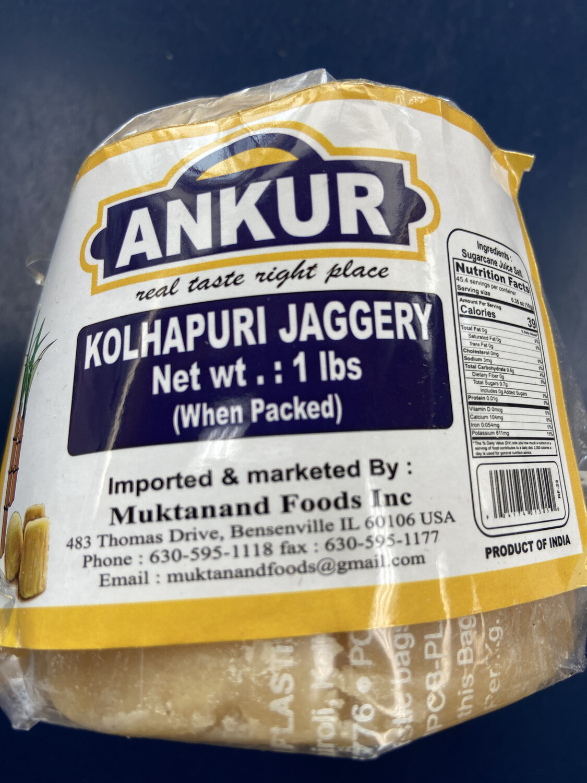 Ankur Jaggery 1LB
