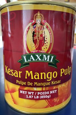 Laxmi Kesar Mango Pulp 850g