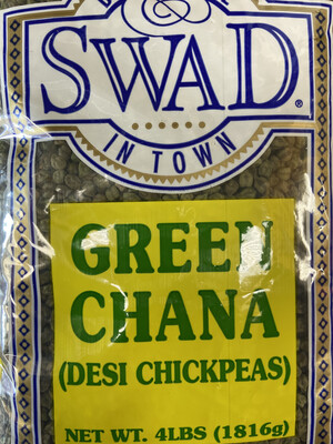 Swad Green Chana 4lb