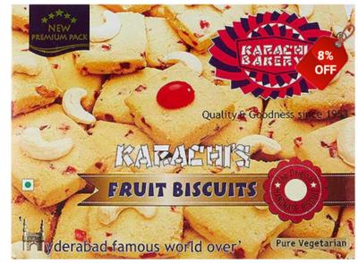 Karachis Fruit Biscuits 400g