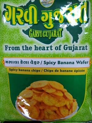 Garvi Gujarat Spicy Banana Wafer 180g