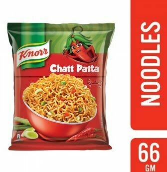 KNORR CHATT PATTA NOODLE 66GM