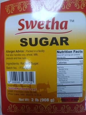 Swetha Indian Sugar 2lb