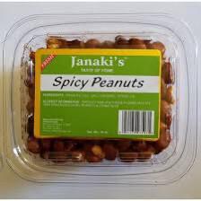 Jankaki Spicy Peanuts 10oz