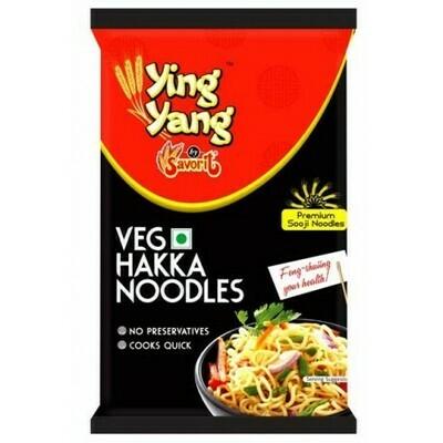 Ying  Yang Veg Hakka Noodles 800g