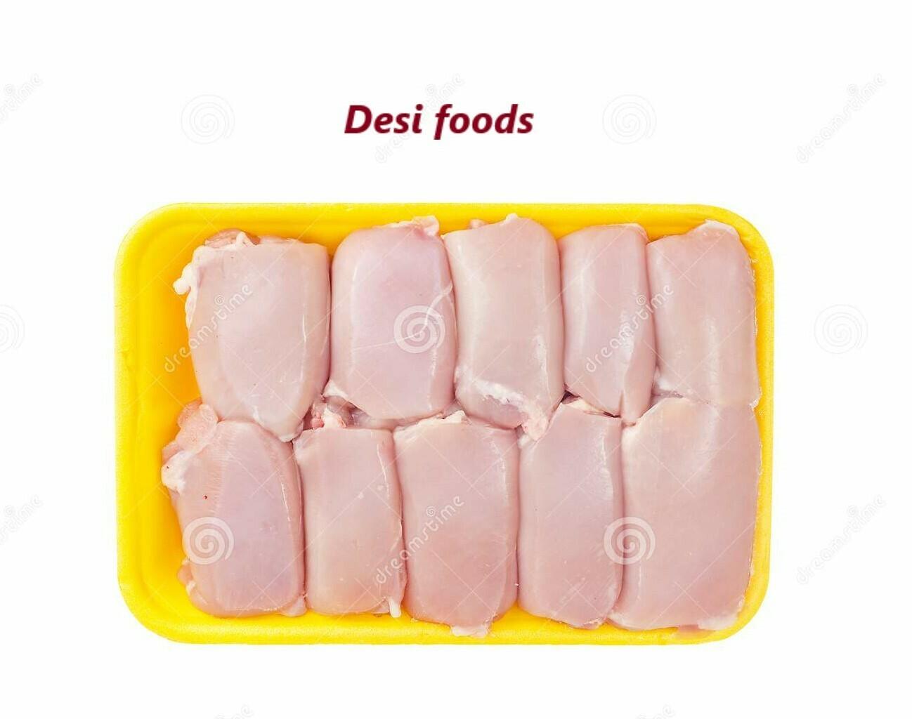 Fresh Chicken Thigh Boneless 1LB