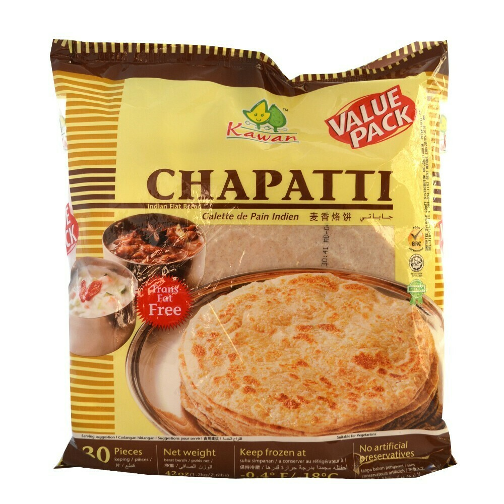 Kawaan Chapati VP 30pc Frz