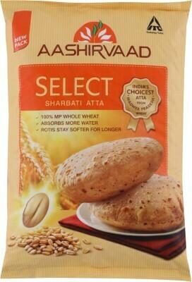 Aashirvaad Select Sharbati Atta  11lb