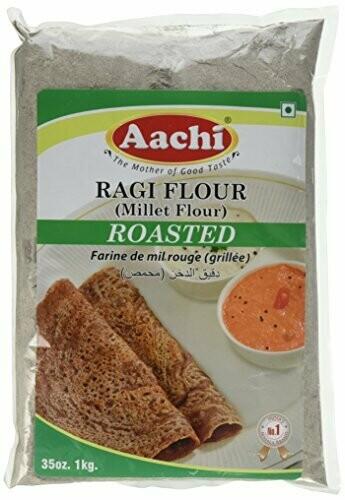 Aachi Raagi Flour Roasted 1Kg