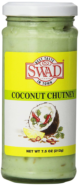 SWAD COCONUT CHUTNEY 7.5 OZ