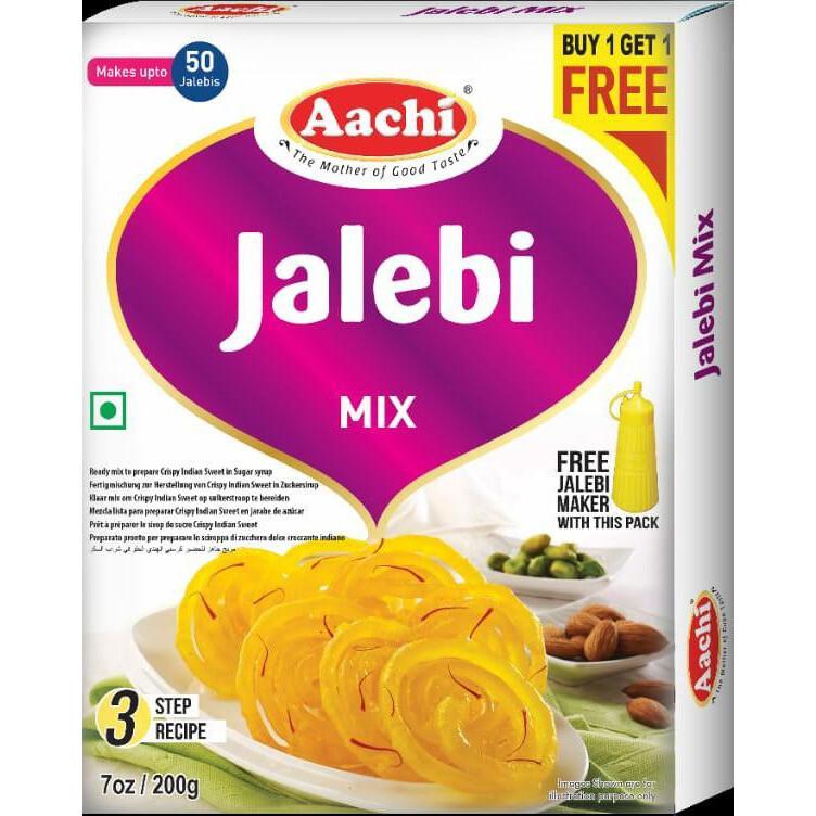 Aachi Jalebi Mix With Maker 7oz
