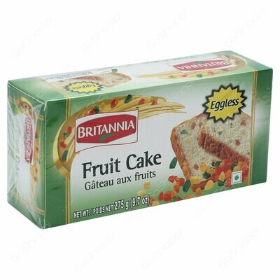 Britannia Fruit Cake Eggless 275g