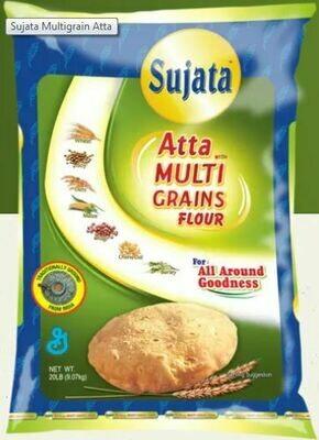 Sujata Atta Multi Grains Flour 20lb