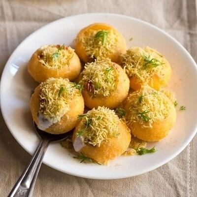 Fresh Dahi Puri