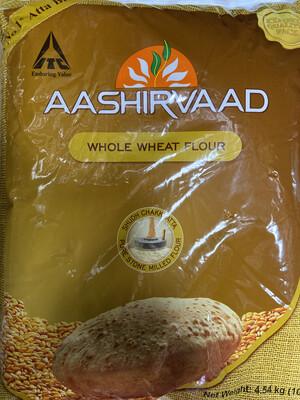 Aashirvaad Whole Wheat Flour10lb