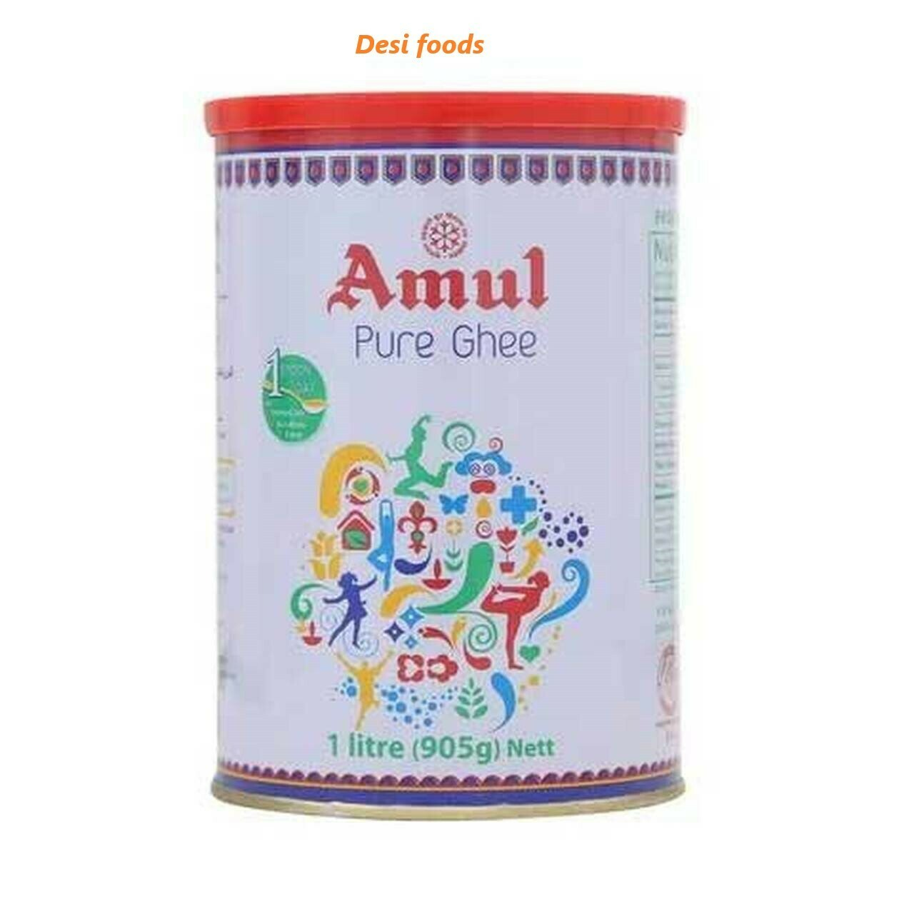 Amul Pure Ghee  1Ltr