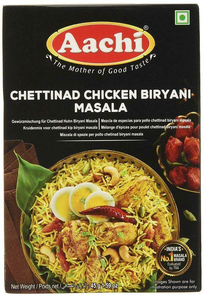 Aachi Chettinad Chicken Biryani 45g