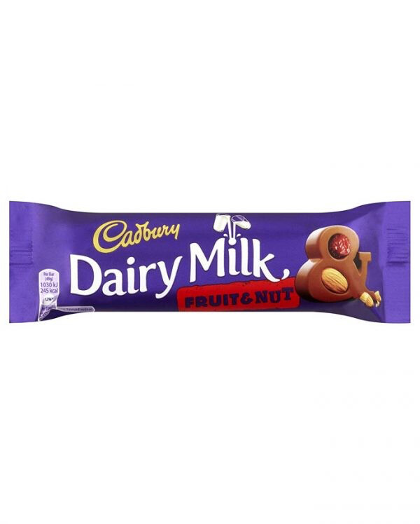 Dairy Milk Fruit & Nut 49g