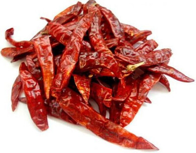 Telugu Whole red Chillies 100g