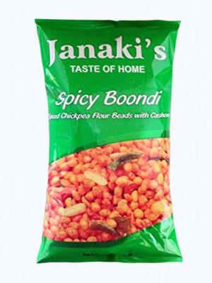 Janaki Spicy Boondi 7oz