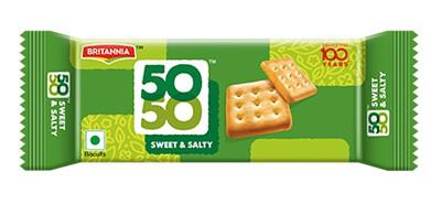 Britania 50-50 Sweet & Salty