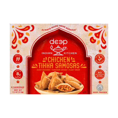 Deep Chicken Tikka Samosa Frz 8pc