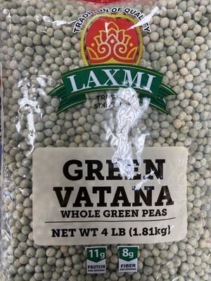 Laxmi Green Vatana 4lb
