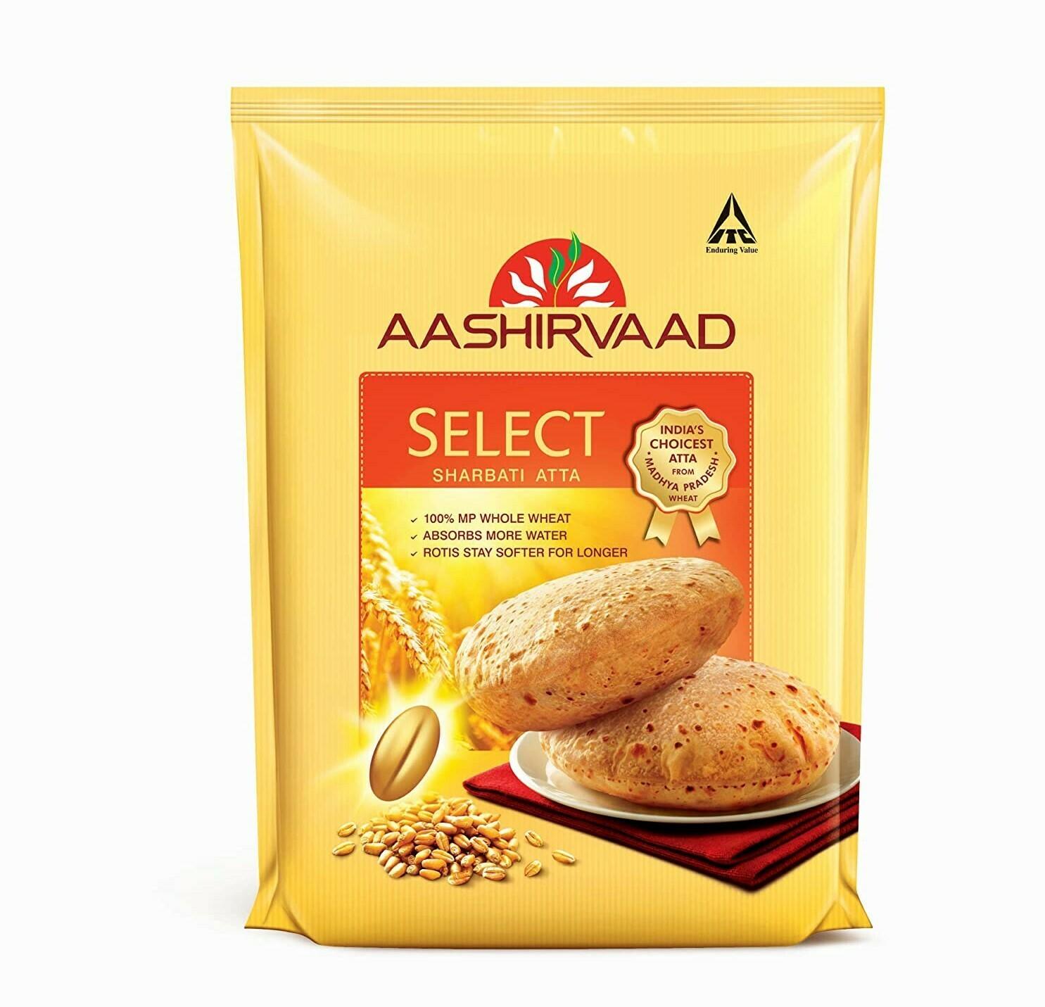 Aashirvaad Select Sharbati Atta 10lb