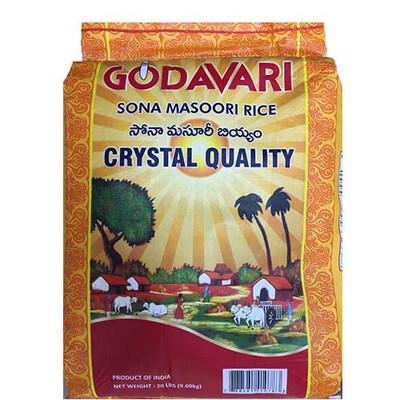 Godavari Sona Masoori Crystal 20Lb