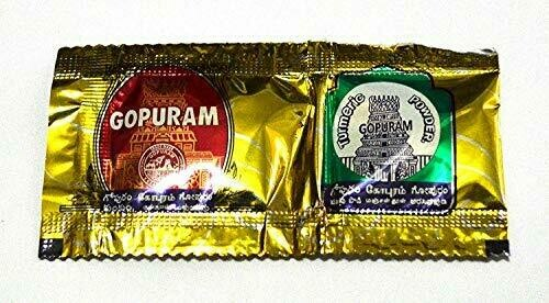 Gopuram Combo Pack Haldi Kumkum