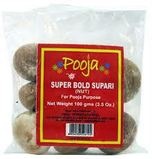 Pooja Bold Supari 100g