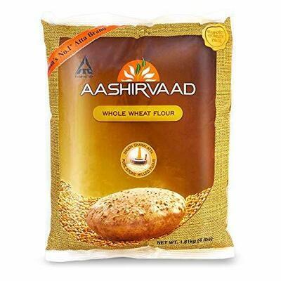 Aashirvaad Whole Wheat Flour 20lb