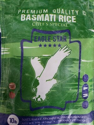Eagle Star Premium Basmati Rice  10lb