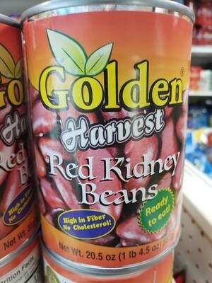 Golden  Harvest Red Kidney Beans 582g