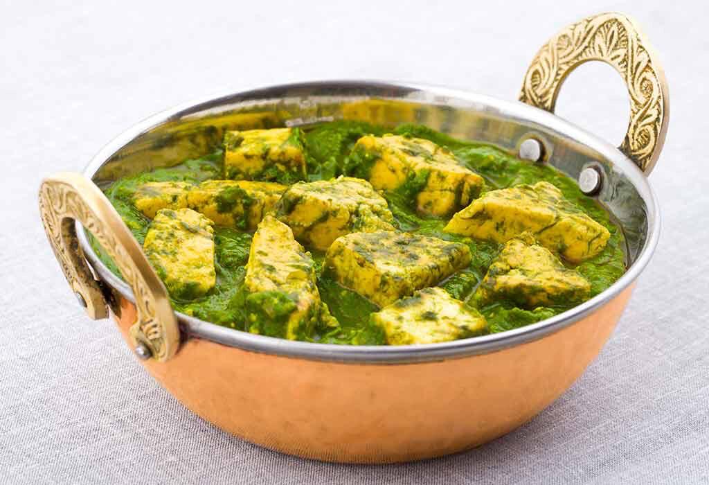 Palak Paneer Curry 16Oz