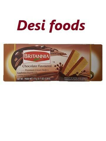 Britannia Choc Flavored Creme Wafers 80 Gr