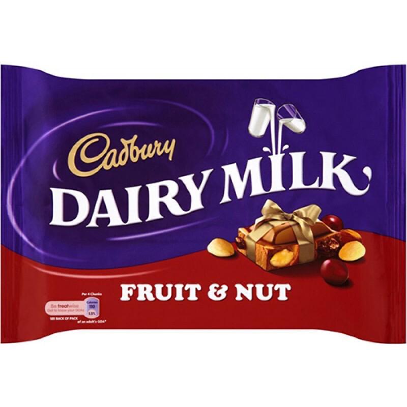 Dairy Milk Fruit & Nut 200g