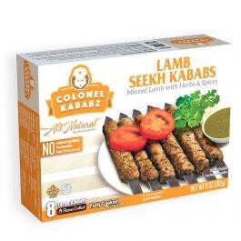 Colonel Kababz Lamb Seekh Kababs 312g