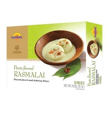 Nanak Rasmalai Paan Flavoured 12pc frz