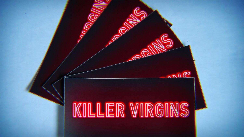 Killer Virgins Stickers (3 Pack)