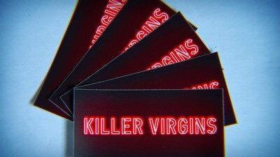Killer Virgins Stickers (3 Pack)
