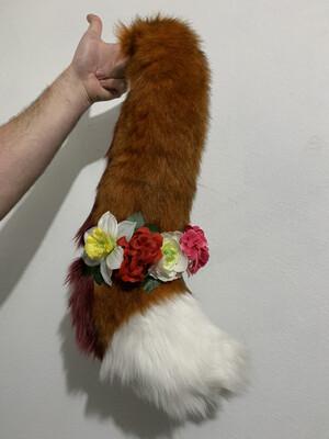 Custom Floral Tail Wrap