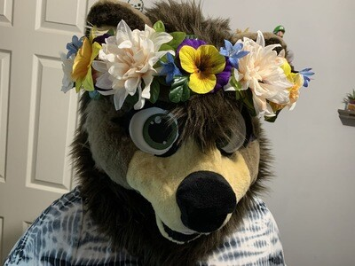 Custom Fursuit Flower Crown