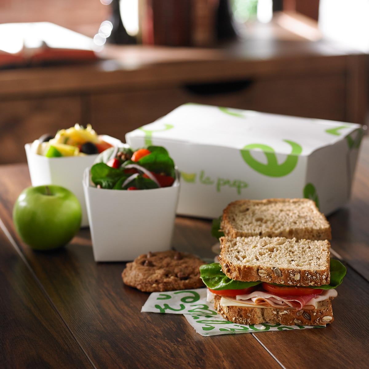 Classic Sandwich Lunch Box