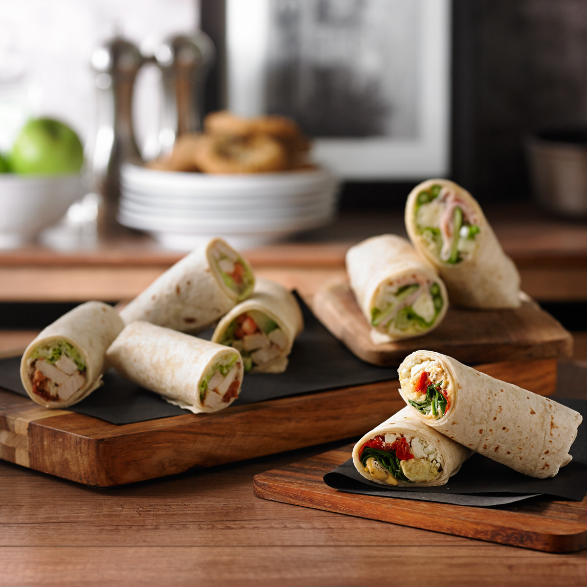 Assorted Wrap Sandwiches