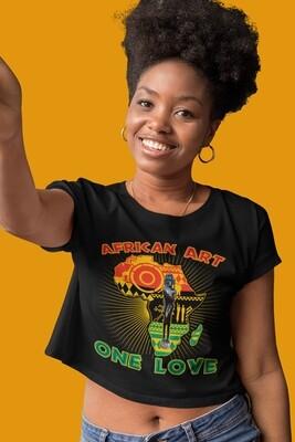 One Love Crop T-Shirt